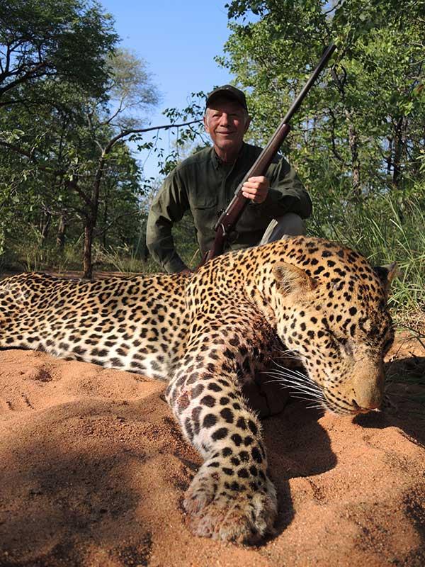 Leopard hunting in Zambia