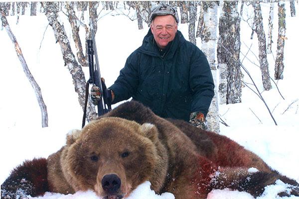 Kamchatka-bear