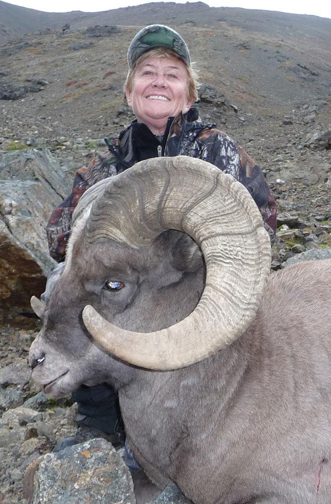 Koryak snow sheep hunting in Russia